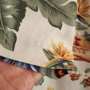 Tommy Bahama Shirts - Tommy Bahama Silk Button Down Hawaii Girl Shirt